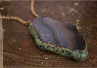 Amulet necklace Earth - Terra