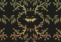 botanic pattern - Owl A