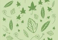 botanic pattern - leaves
