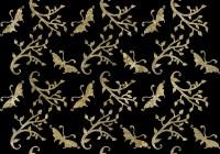 Botanic pattern - butterfly branch B