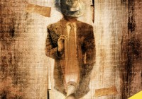 """Cover illustartion and design for """"Cinque casi capovolti"""", novel by Massimo Renaldini, winner of the Prize """"Midgar Narrativa 2016""""."""