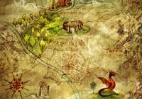 Battaglia di Aquirama - fantasy map