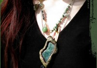 Deep Forest necklace