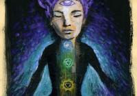 flusso energetico - original painting 2014