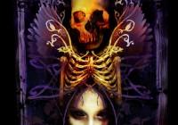 Dark Goddess: t-shirt illustration
