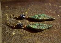 Leaves earrings
