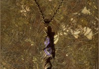 Crystal wand and Amethyst pendant