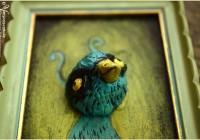 Turquoise bird