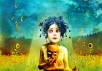 """Poster for """"Le Chainon Manquant"""" theatre festival"""