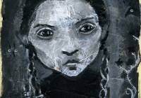 Wednesday Addams - original painting 2014