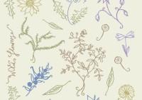 wild Flowers pattern 01