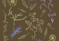 wild Flowers pattern02