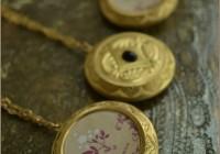 Jasmine Perfume locket