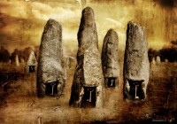 Menhir - last illustration for Edizioni XII