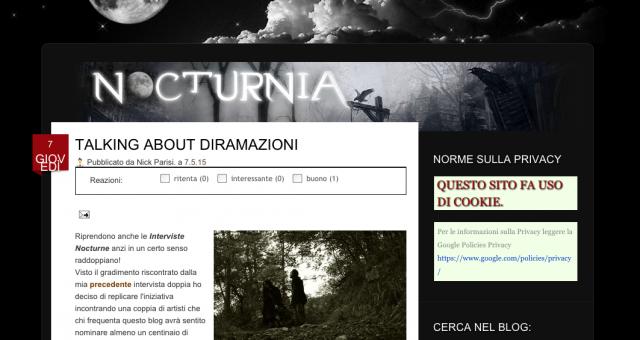 Diramazioni on Nocturnia