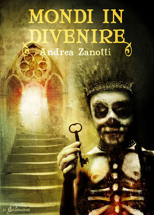 Mondi in Divenire - Cover illustrations for the e-book by Andrea Zanotti. - 2012 - illustration: Voci