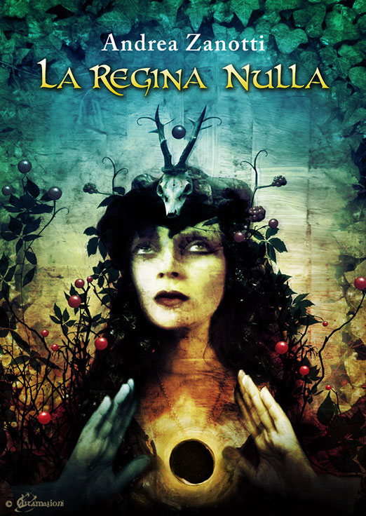 La Regina Nulla - Cover illustrations for the e-book by Andrea Zanotti. - 2012 - illustration: Voci
