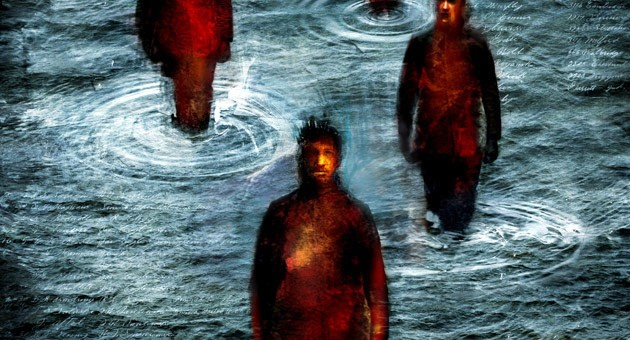 Come Gocce nel Mare- illustrazione per il racconto di Riccardo Gazzaniga