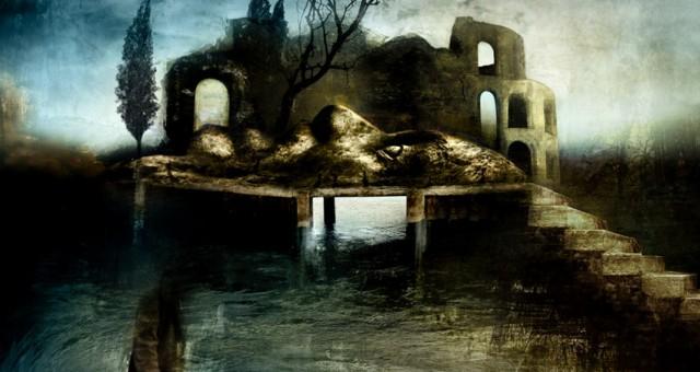 """Le isole fantasma: illustrazione per """"Il posto Nero"""""""