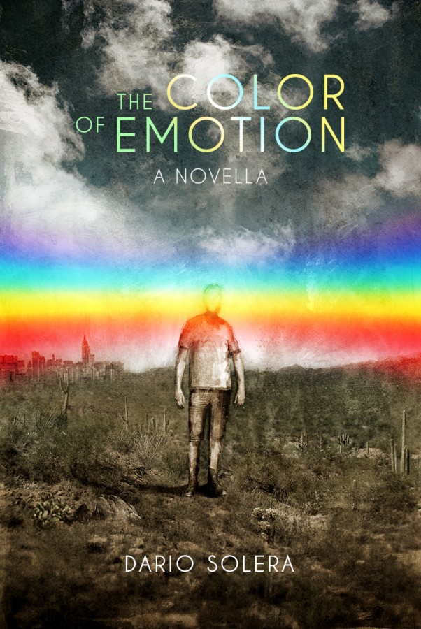 """Cover illustration for """"The Color of Emotion"""", 2015, sci-fi book written by Dario Solera. Illustration and design © Vocisconnesse (J.A.) and Tryfar (L.M.)"""