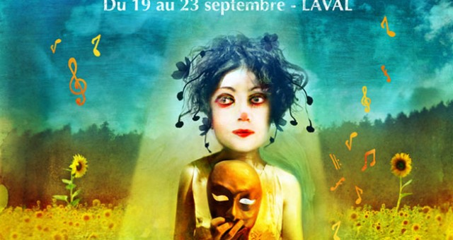 "Poster for ""Le Chainon Manquant"" theatre festival"